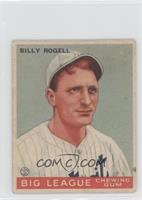 Billy Rogell [Good to VG‑EX]