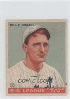 Billy Rogell [GoodtoVG‑EX]