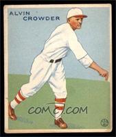 1933 Goudey Big League Chewing Gum R319 Alvin Crowder