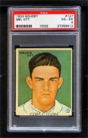 Mel Ott Baseball Cards From The 1930s
