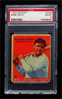 Babe Ruth [PSA 2 GOOD]