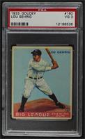 Lou Gehrig [PSA3VG]
