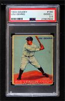 Lou Gehrig [PSA 2.5 GOOD+]