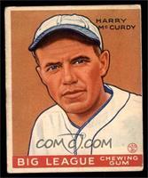 Harry Mccurdy Baseball Cards Matching Baseball 1933 Goudey