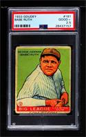 Babe Ruth [PSA 2.5 GOOD+]