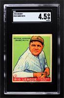 Babe Ruth [SGC55VG/EX+4.5]