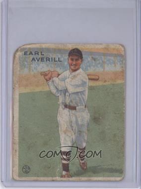1933 Goudey Big League Chewing Gum - R319 #194 - Earl Averill [Poor]