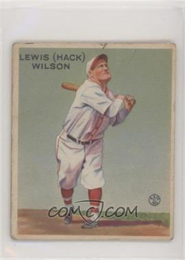 1933 Goudey Big League Chewing Gum - R319 #211 - Hack Wilson