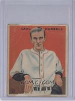 Carl Hubbell [Poor to Fair]