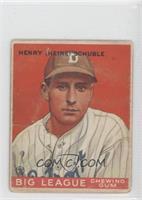 Heinie Schuble [Poor]