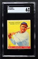 Babe Ruth [SGC 80 EX/NM 6]