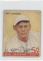 Roy Johnson [GoodtoVG‑EX]