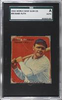 Babe Ruth [SGC AUTHENTIC]