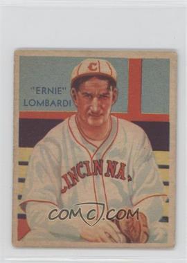 1934-36 National Chicle Diamond Stars - R327 #36 - Ernie Lombardi