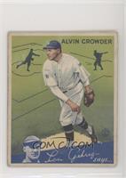 Alvin Crowder [GoodtoVG‑EX]