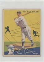 Ed Coleman [Good to VG‑EX]