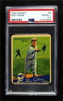 Dizzy Dean [PSA 2.5 GOOD+]