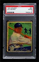 Lou Gehrig [PSA 2 GOOD]