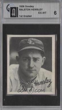 1936 Goudey - R322 #ROHE - Rolly Hemsley [GAI6]