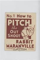 How to Pitch the Out Shoot (Rabbit Maranville) [GoodtoVG‑EX]