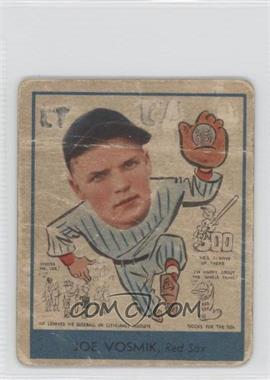 1938 Goudey Big League Chewing Gum - [Base] #271 - Joe Vosmik [Poor to Fair]