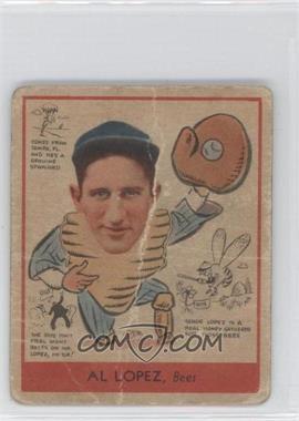 1938 Goudey Big League Chewing Gum - [Base] #281 - Al Lopez