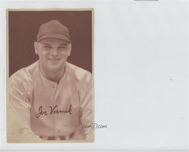 1939 Goudey Diamond Stars Gum Premiums Small - R303A #JOVO - Joe Vosmik