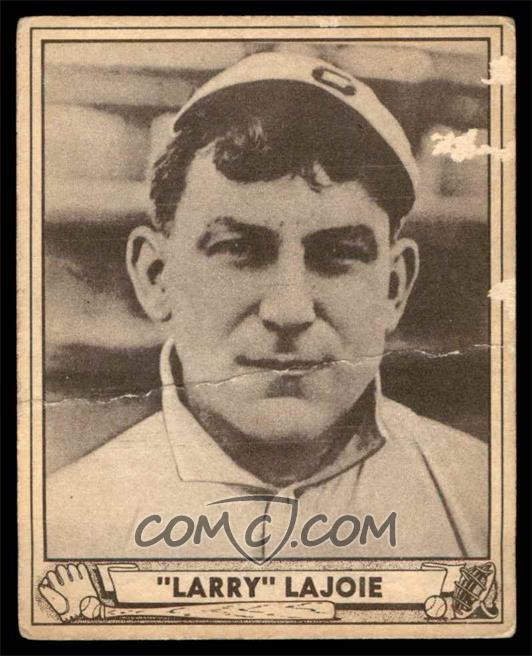 1940 Play Ball Base 1732 Napoleon Lajoie Millons Of Young