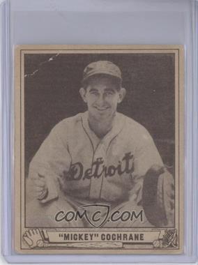1940 Play Ball - [Base] #180 - Mickey Cochrane [GoodtoVG‑EX]