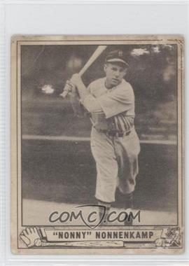 1940 Play Ball - [Base] #196 - Nonny Nonnenkamp