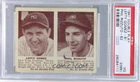 Lefty Gomez, Phil Rizzuto [PSA 3 (MK)]