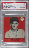 Carl Hubbell (Red Background) [PSA 5]