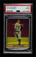 Joe DiMaggio [PSA 2 GOOD]