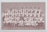 1949 Brooklyn Dodgers Team
