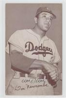 Don Newcombe (Dodgers Logo on Jersey)