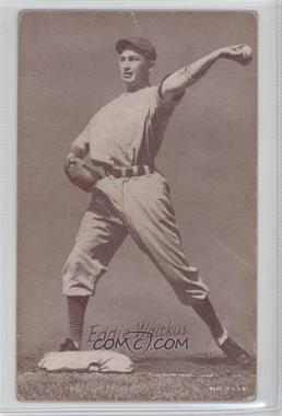1947-66 Exhibits - W461 #EDWA - Eddie Waitkus [Poor to Fair]