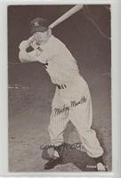 Mickey Mantle (Battling Lighter Background) [Poor]