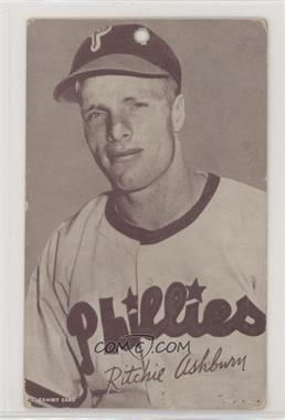 1947-66 Exhibits - W461 #RIAS.2 - Richie Ashburn (Philadelphia ...