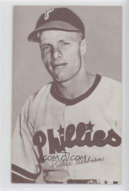 1947-66 Exhibits - W461 #RIAS.3 - Richie Ashburn (Philadelphia Phillies; Name Spelled Richie)