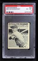 Red Schoendienst [PSA 6 EX‑MT]