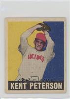 Kent Peterson (red cap)