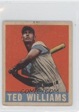 1948 Leaf - [Base] #76 - Ted Williams