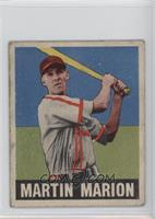 Marty Marion [Good to VG‑EX]