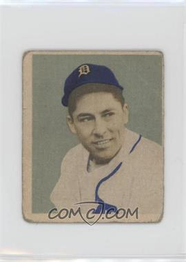 1949 Bowman - [Base] - Gray Backs #107 - Eddie Lake [Poor]