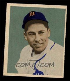 1949 Bowman - [Base] - Gray Backs #107 - Eddie Lake [EX]