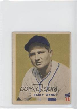 1949 Bowman - [Base] - Gray Backs #110 - Early Wynn