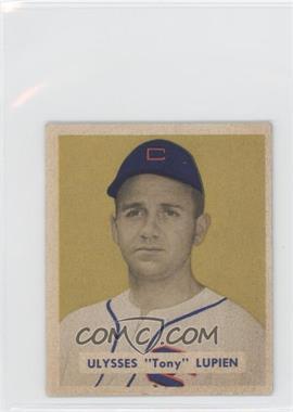 1949 Bowman - [Base] - Gray Backs #141 - Tony Lupien