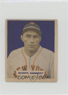 1949 Bowman - [Base] - Gray Backs #237 - Monte Kennedy [GoodtoVG‑EX]