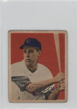 1949 Bowman - [Base] - White Backs #22 - Harry 'Peanuts' Lowrey [Poor to Fair]