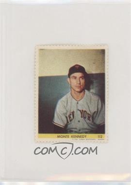 1949 Eureka Sportstamps - [Base] #112 - Monte Kennedy